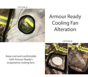 Armour Ready Cooling Fan Alteration