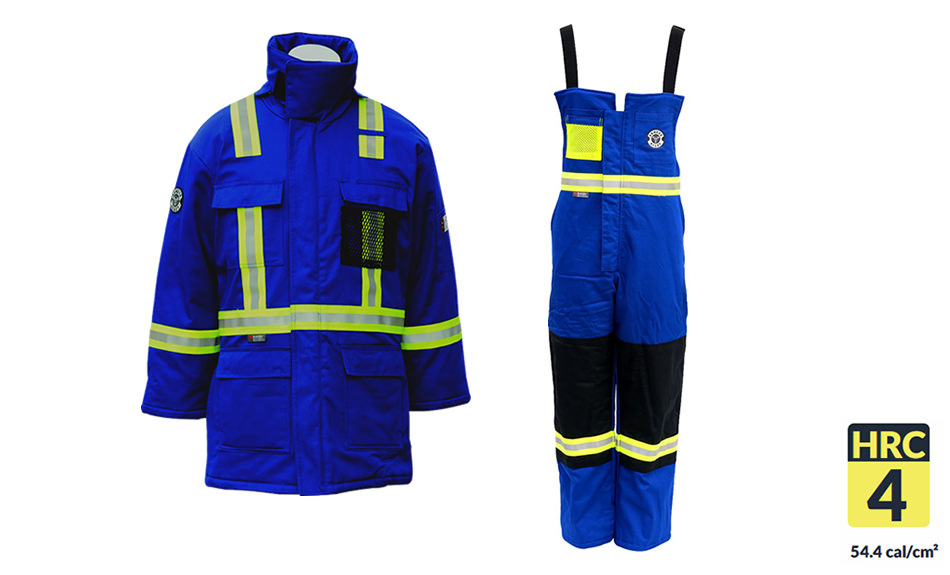 Armour Ready Insulated Bib & Parka Combo - Royal Blue