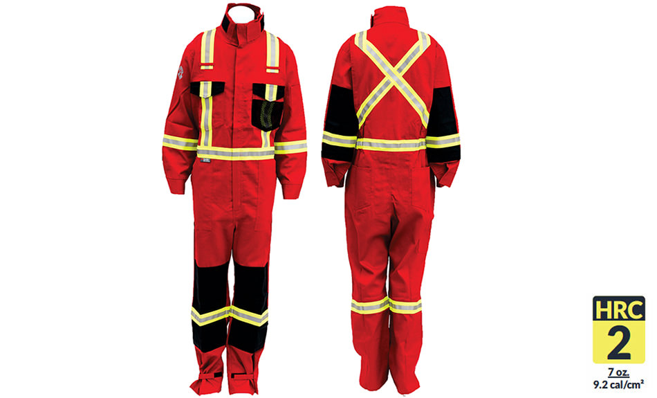 Armour Ready Coverall - Red