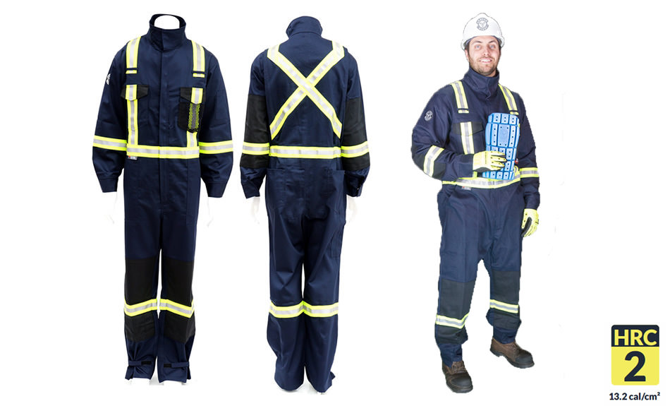 Armour Ready Coverall 9oz – Navy