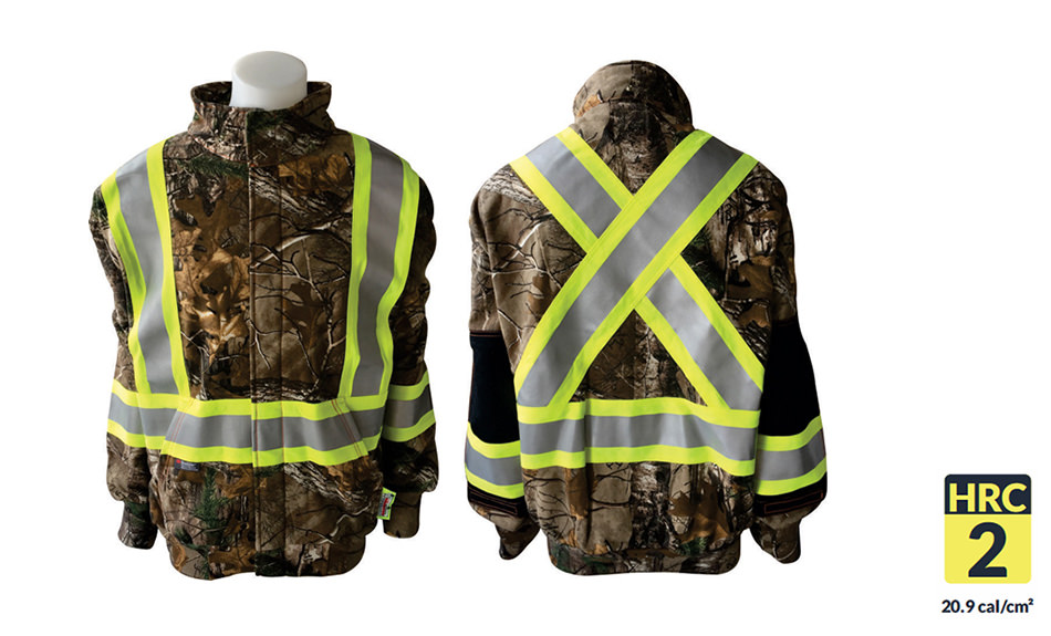 Armour Ready FR Zip Green Realtree Hoodie