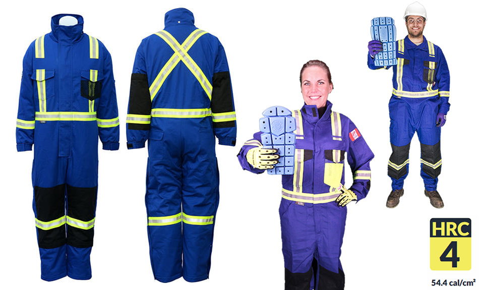 Armour Ready Insulated Coverall 14 oz - Royal Blue