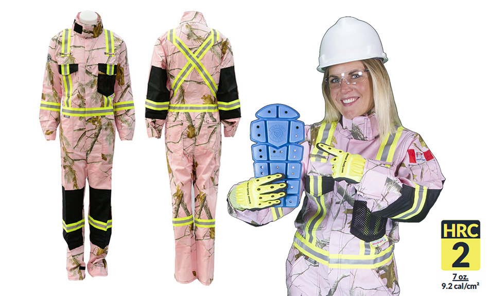Armour Ready Realtree Pink Camo Coverall
