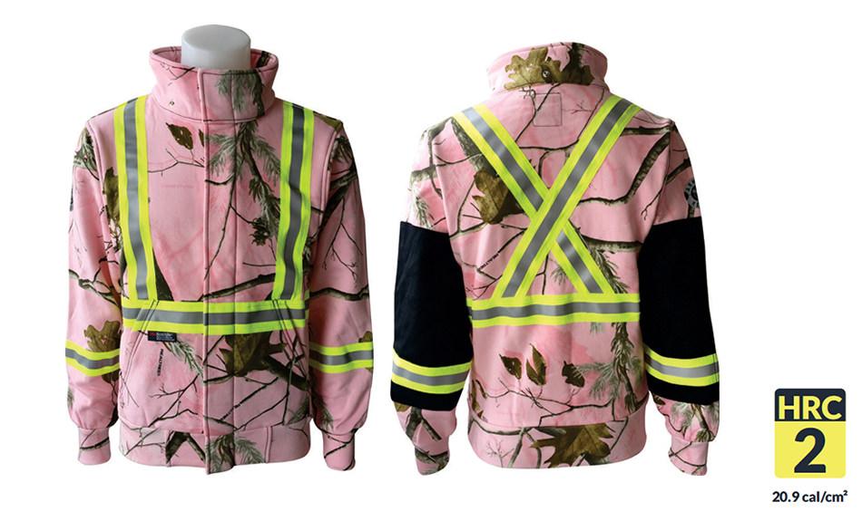 Armour Ready FR Zip Pink Realtree Hoodie
