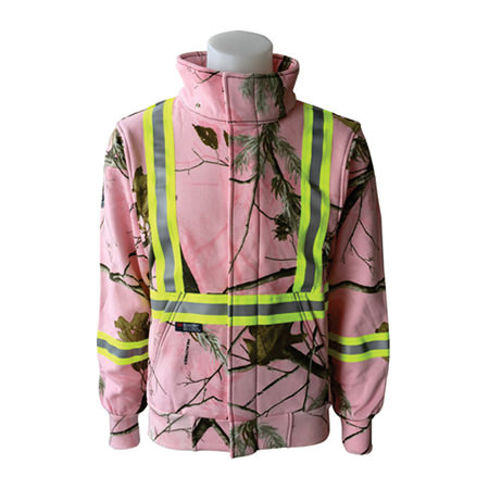 Armour Ready FR Zip Pink Realtree Hoodie