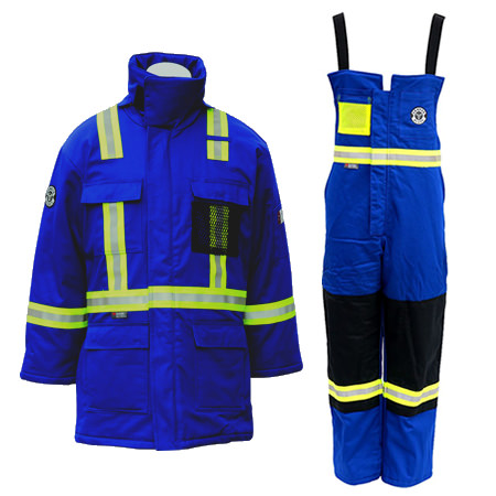 Armour Ready Insulated Bib & Parka Combo – Royal Blue