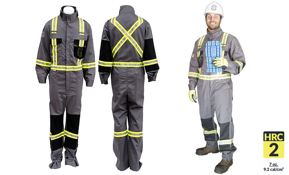 Armour Ready Coverall 7 oz – Grey